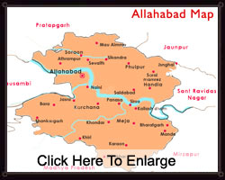 Map Of Allahabad Allahabad Map   Allahabad City Map Map Of Allahabad